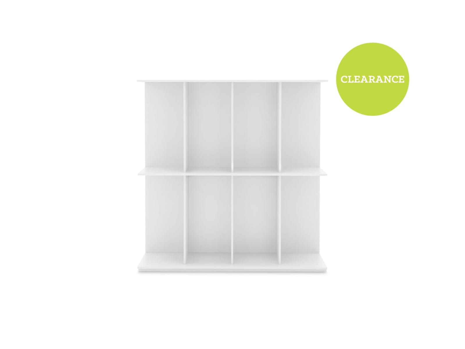 Calligaris Division Bookcase in White 213353