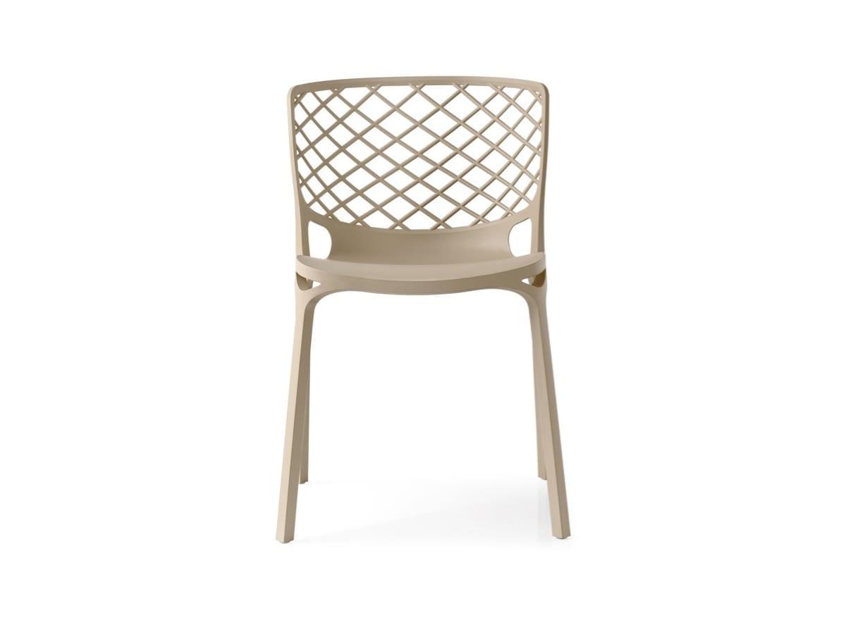 Calligaris Gamera Chair Nougat available at McKenzie & Willis