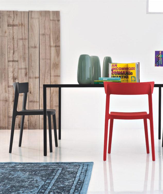 Calligaris Skin Dining Chair