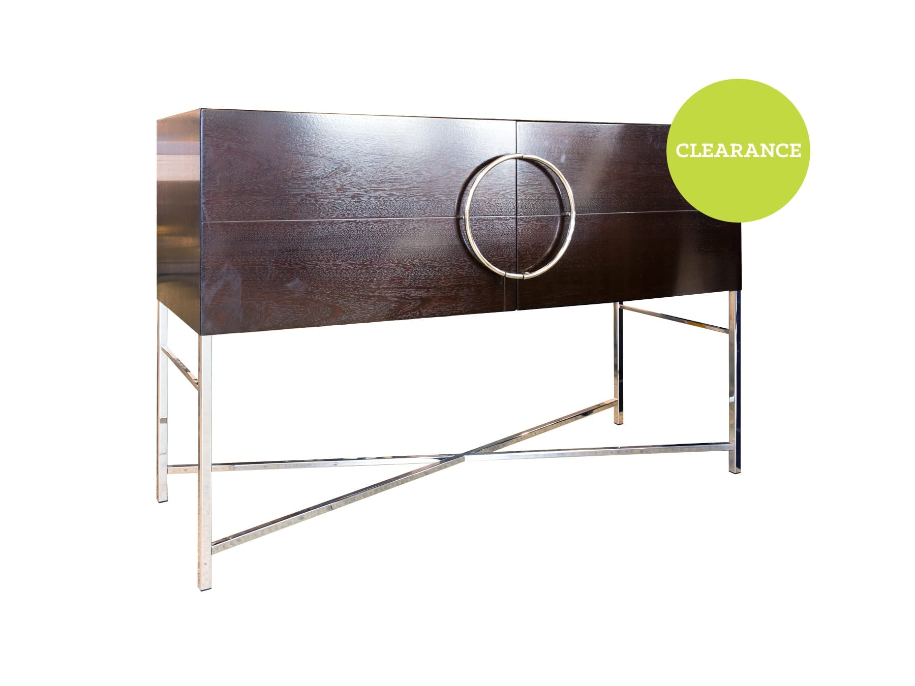 Classique Manhattan Cabinet with Chrome Legs