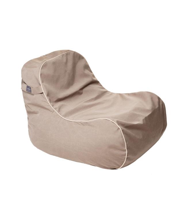 Coast Marine Bean Chair Clear cut Taupe 633x755