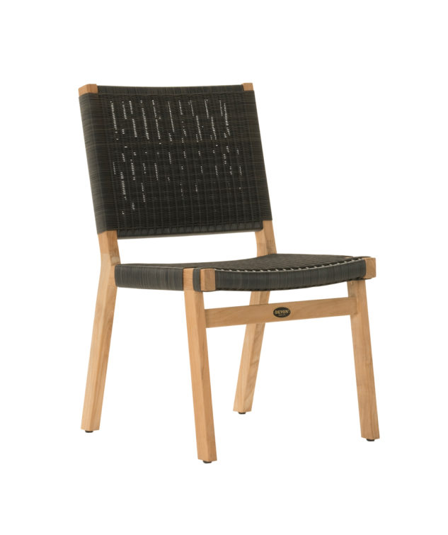 Devon Jackson Dining Chair Black Clear Cut 633x755