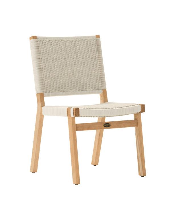 Devon Jackson Dining Chair White Clear Cut 633x755