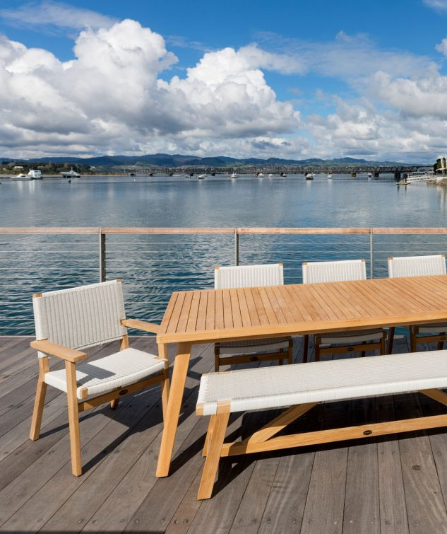Devon Porter Rectangle Teak Outdoor Dining Table