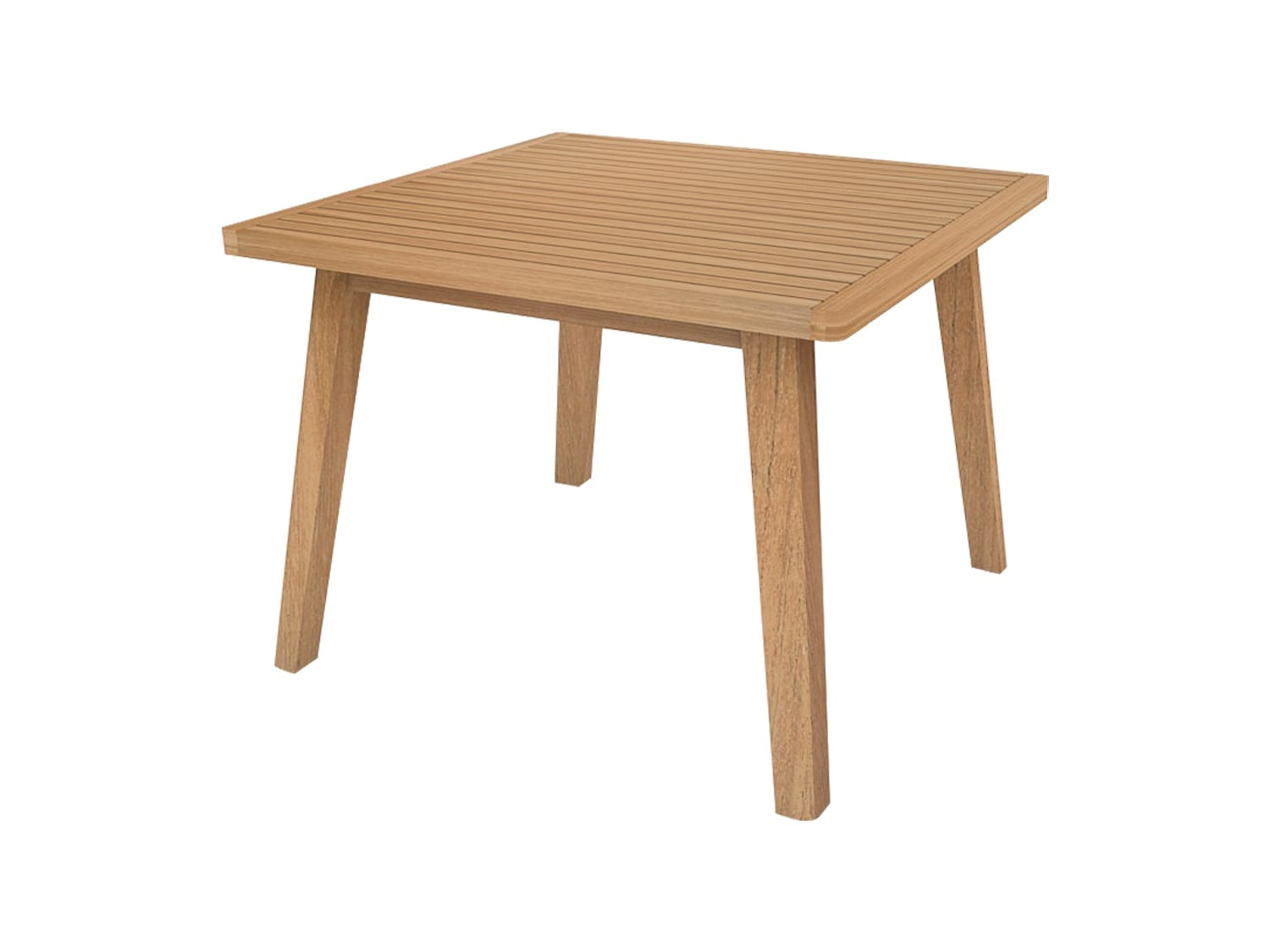 Devon Porter Square Teak Dining Table available at McKenzie & Willis