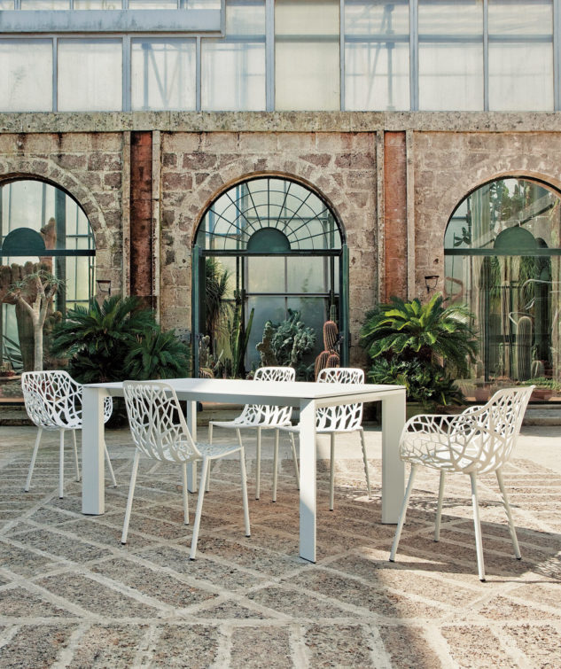 Fast Forest Armchair Grande Arche Dining Table 633x755