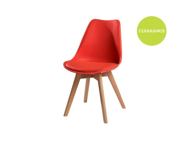 Global Design Mac Chair Red