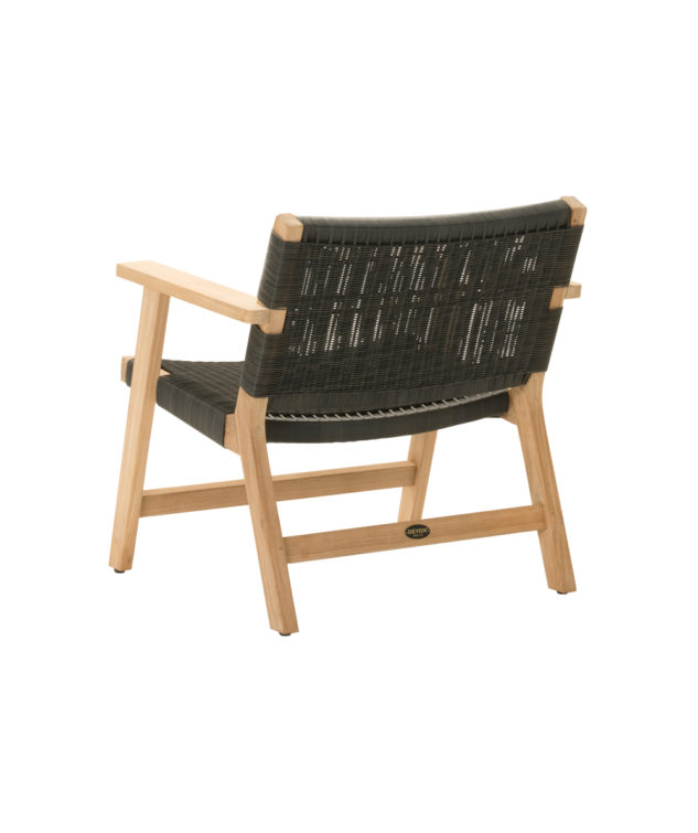 Jackson Easy Chair Clear Cut Black 3 633x755
