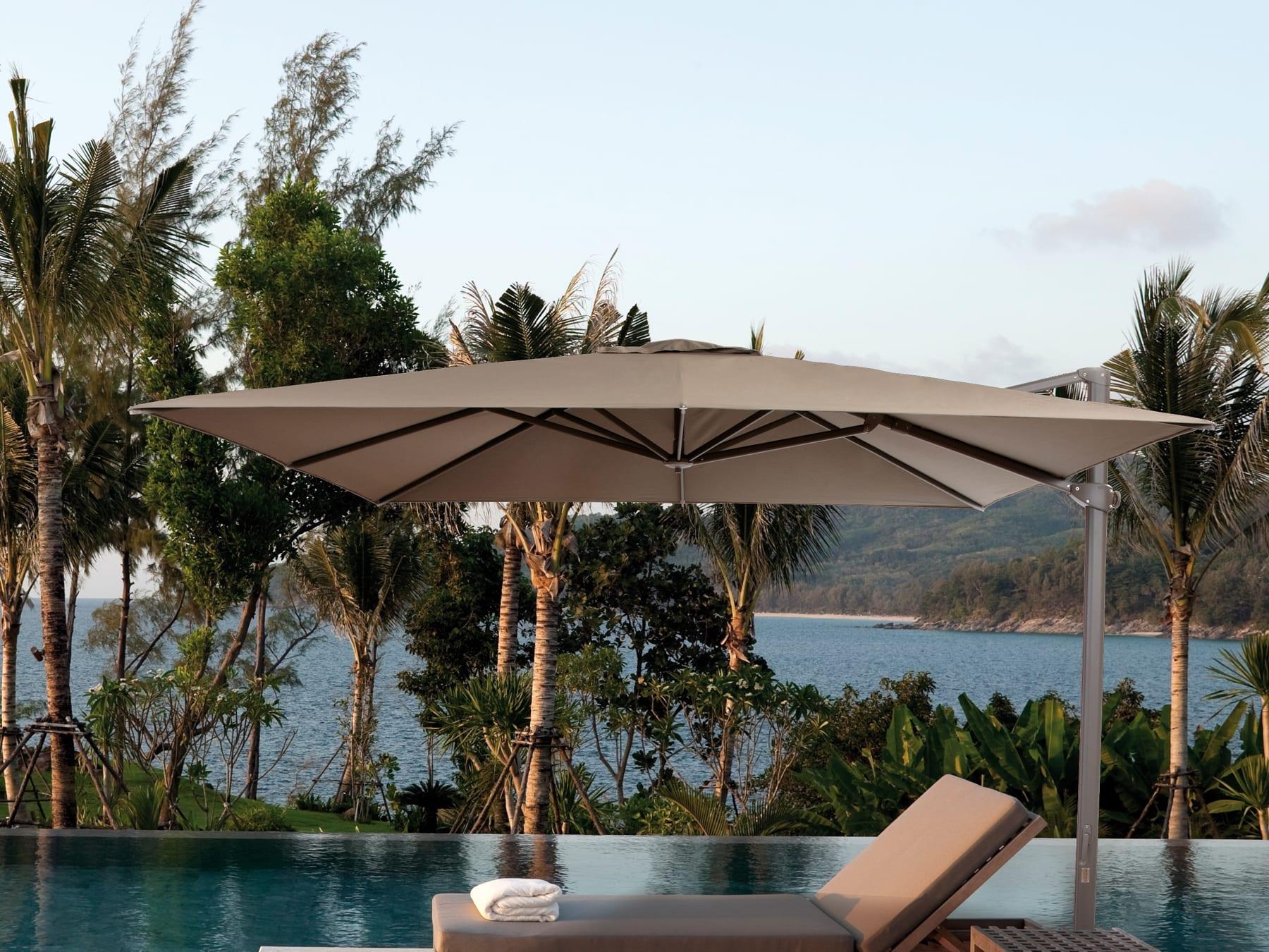 Jardinico Aruba Umbrella available at McKenzie & Willis
