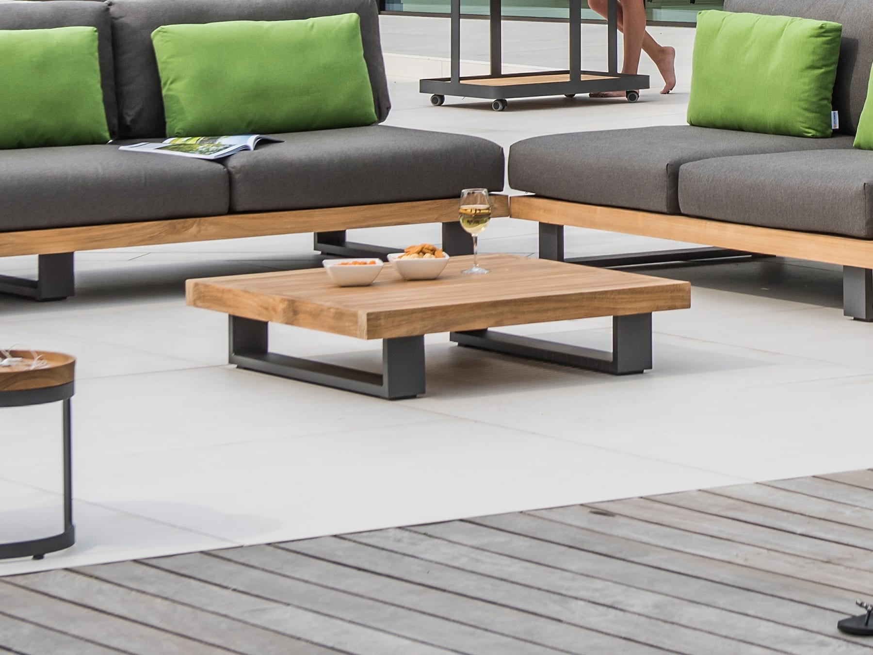 Jati & Kebon Truro Coffee Table available at McKenzie & Willis
