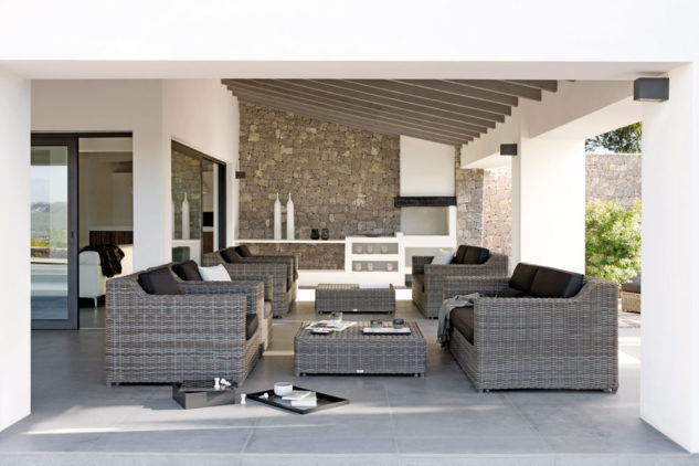 Manutti San Diego Outdoor Armchair and Sofa