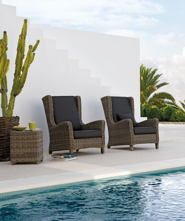 Manutti San Diego Outdoor Wing Armchair 2 633x755