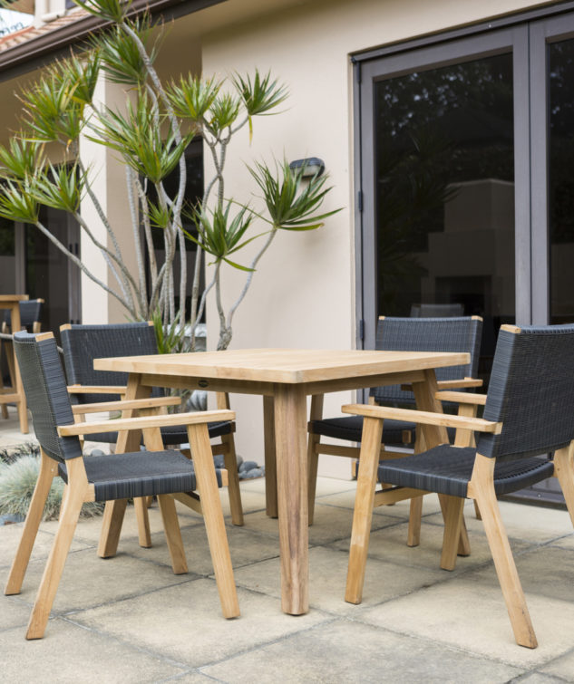 Porter 1000 Table with Jackson Carver Chairs Shadow Grey 633x755
