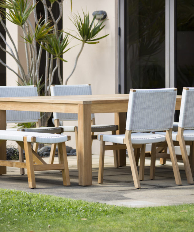 Porter 1600 Table with Sawyer Benches and Jackson Dining Chairs 633x755