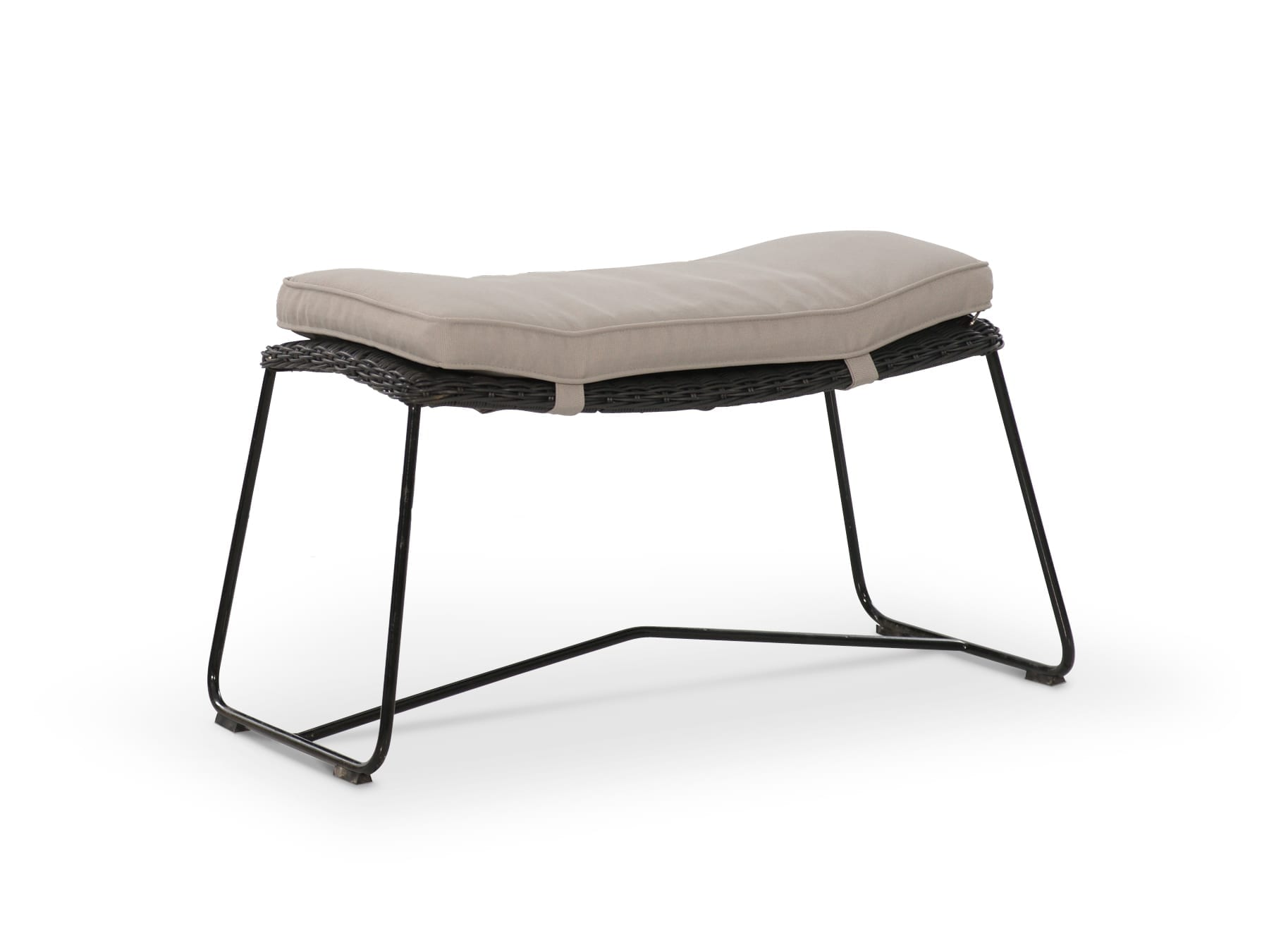 Portico Hutton High Back Footstool available at McKenzie & Willis