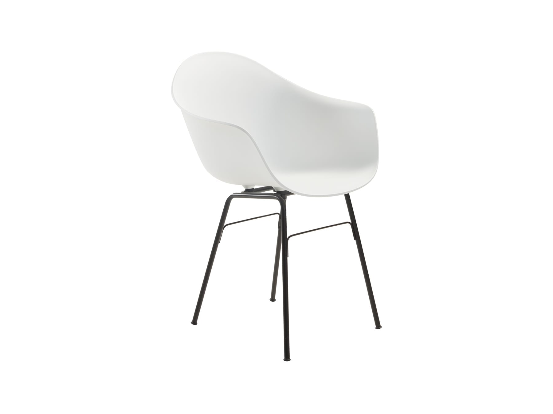 Toou Shell Armchair with Metal Legs available at McKenzie & Willis