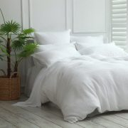 MM Linen Waffle Duvet Set available at McKenzie & Willis