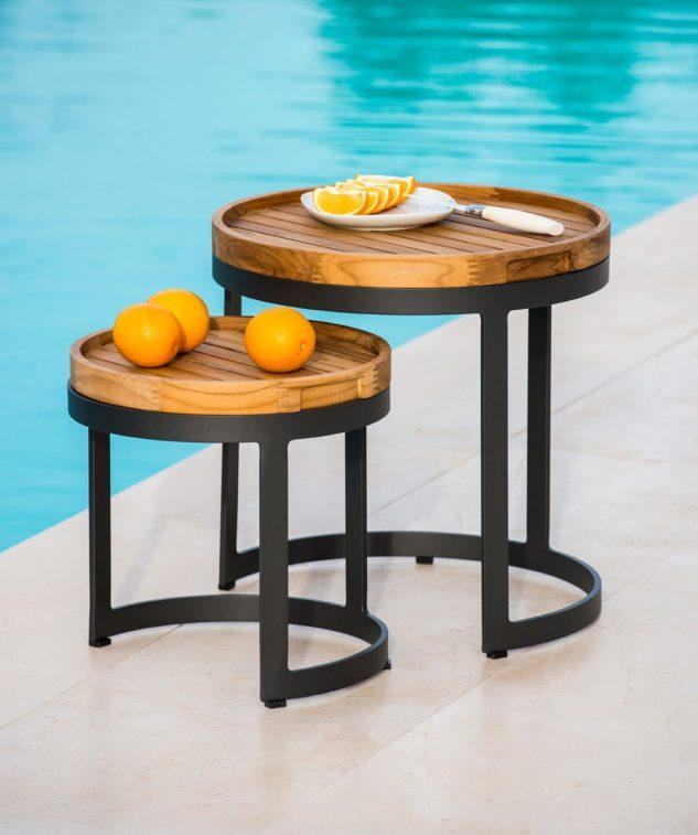 Jati & Kebon Bertus Side Table Set