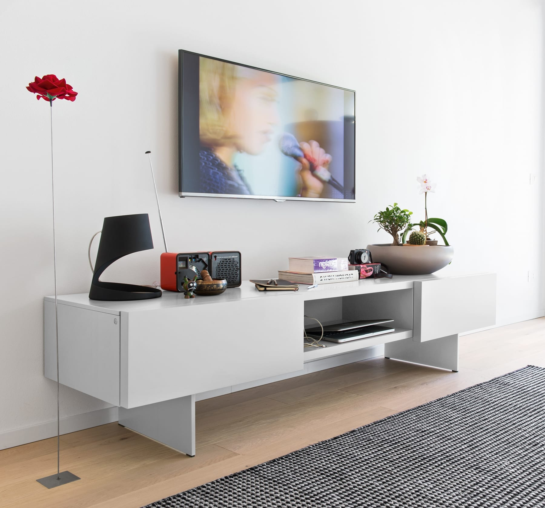 Calligaris Sipario Entertainment Unit available at McKenzie & Willis