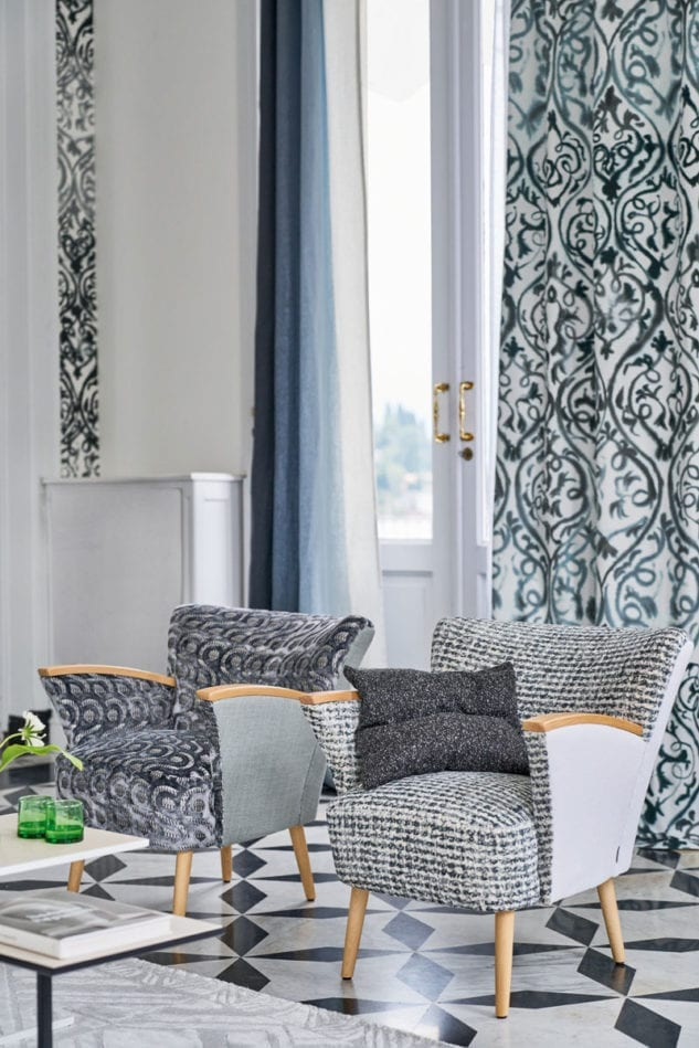Designers Guild Majolica Arabesque Latticino Retticello Fabric 4 633x949
