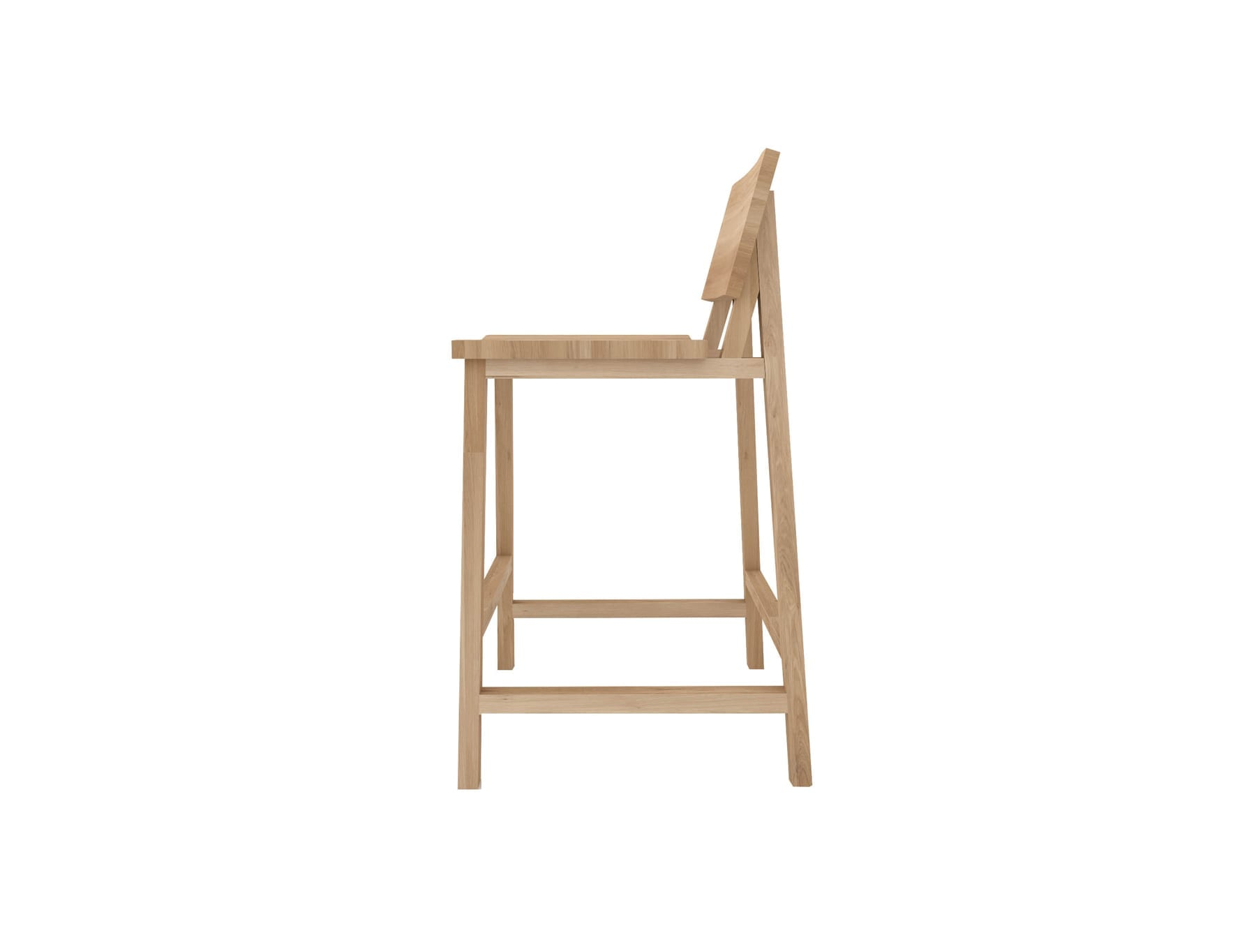 Ethnicraft N3 Barstool available at McKenzie & Willis