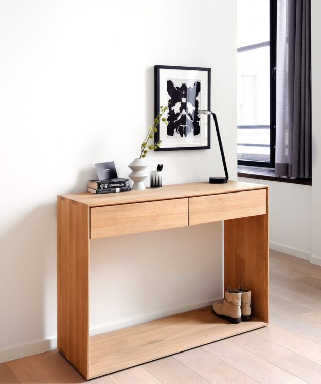 Ethnicraft Nordic Console available at McKenzie & Willis