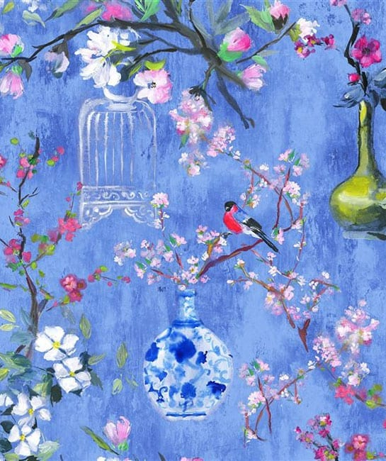 Designers Guild Majolica Fabric Collection Istoriato
