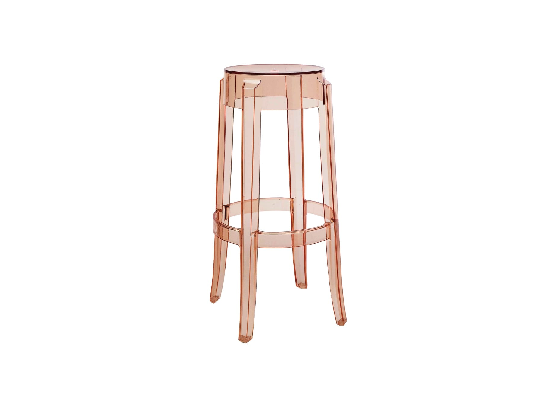 Kartell Charles Ghost Barstool available at McKenzie & Willis