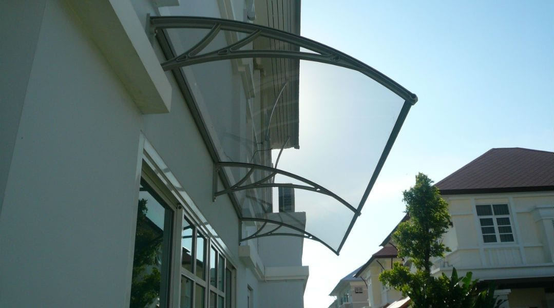 Luxaflex Canopy Awning available at McKenzie & Willis