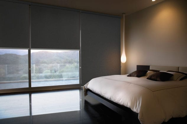 Luxaflex Blockout Rollershades available at McKenzie & Willis
