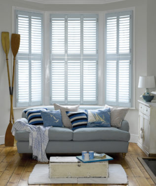 Luxaflex Shutter available at McKenzie & Willis
