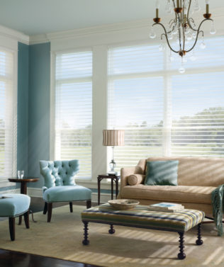 Luxaflex Silhouette Shades available at McKenzie & Willis