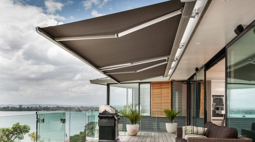 Luxaflex Fabric Awning available at McKenzie & Willis