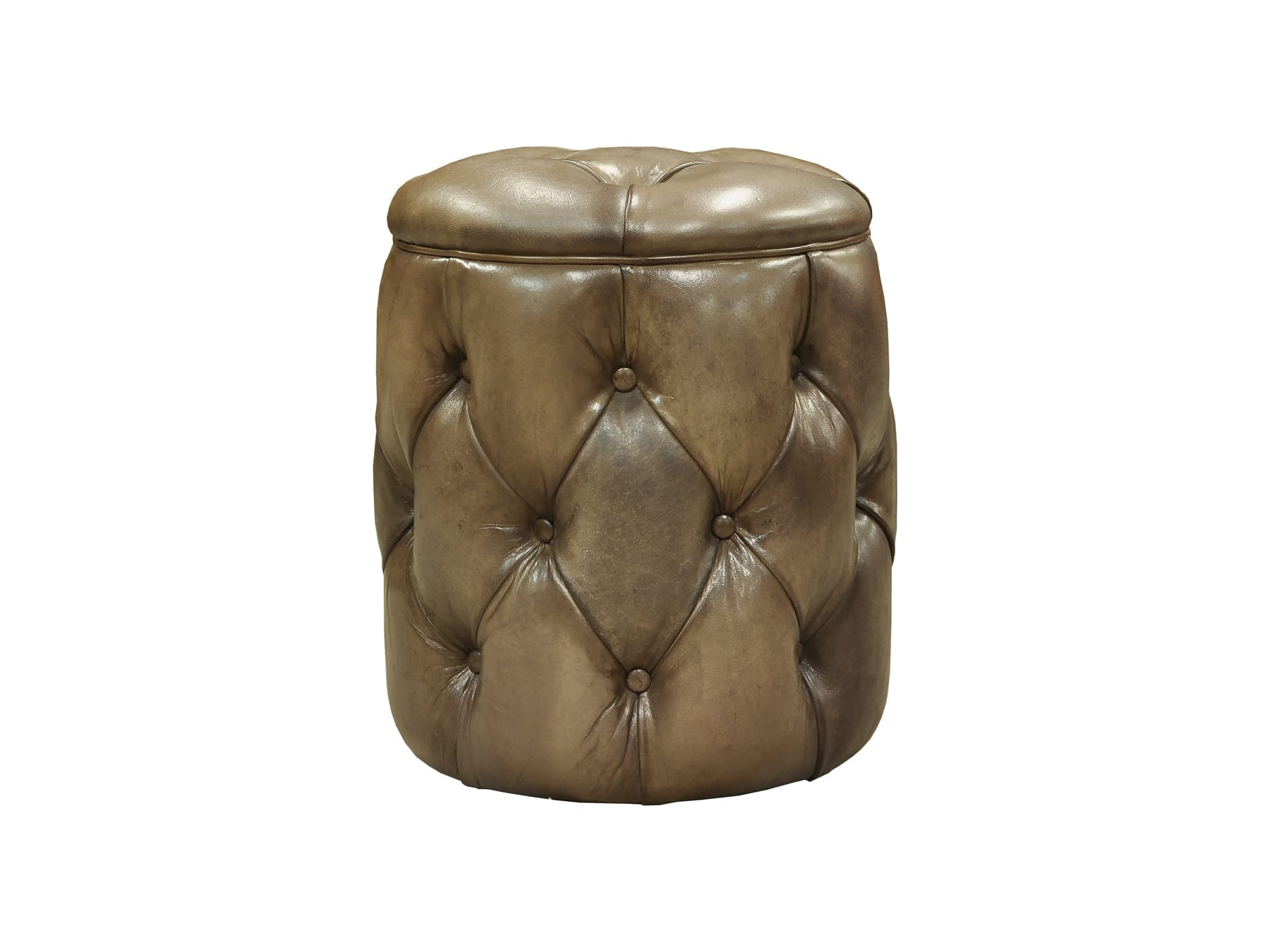 Pure Home Louis Pouf available at McKenzie & Willis