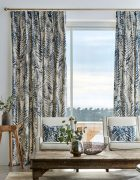Custom Made Single Pinch Pleat Curtains available at McKenzie & Willis