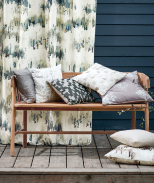 Villa Nova Norrland Fabric Collection available at McKenzie & Willis
