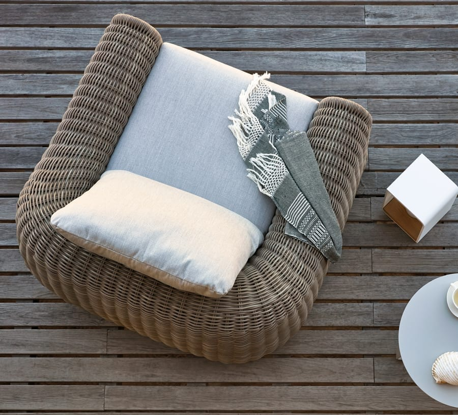 Manutti River Outdoor Armchair available at McKenzie & Willis