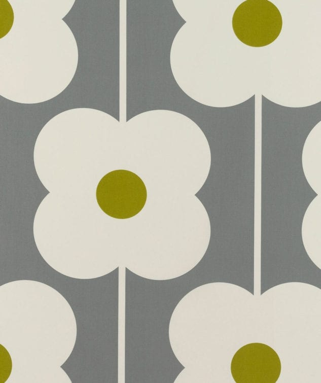 Sekers Orla Kiely Fabric Collection - Abacus Flower