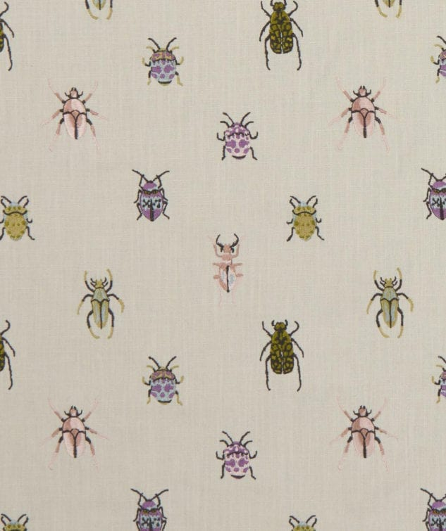 Clarke & Clarke Botanica Fabric Collection - Beetle