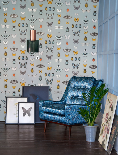 Clarke and Clarke Botanica Wallpaper Collection