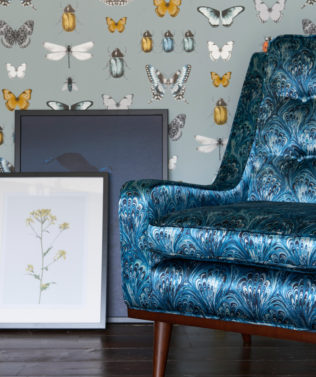 Clarke & Clarke Botanica Wallpaper Collection available at McKenzie & Willis