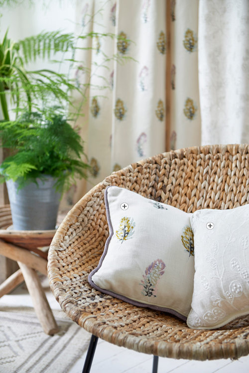 Clarke and Clarke Botanica Fabric Collection