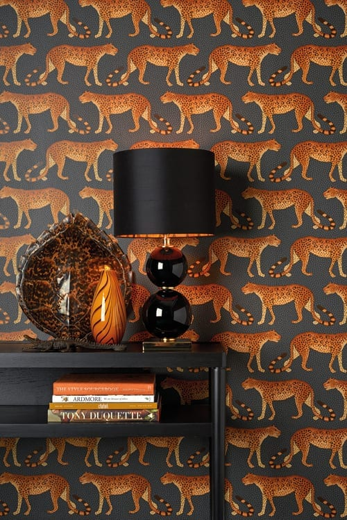 Cole Son Ardmore Leopard Walk Wallpaper 1