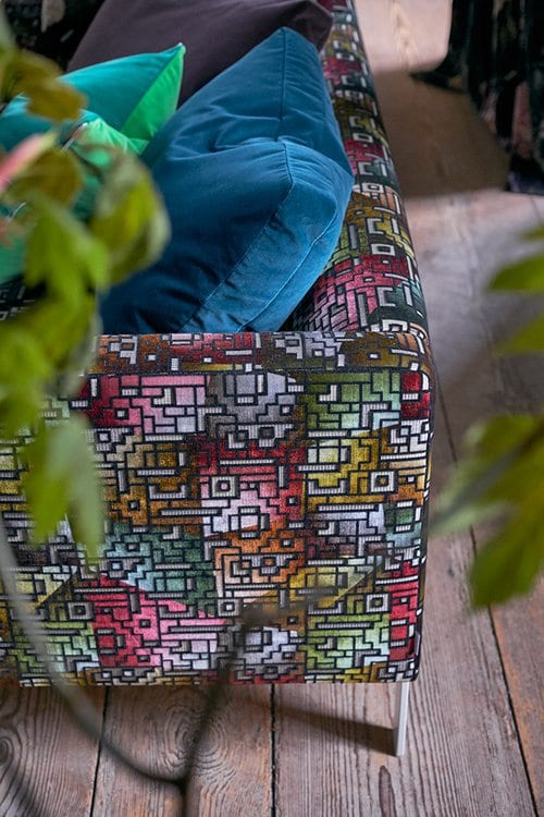 Designers Guild Casablanca Fabric Collection available at McKenzie & Willis