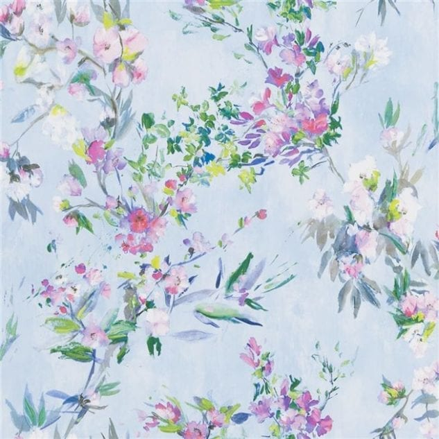 Icon Textiles Designers Guild Majolica Wallpaper Faience
