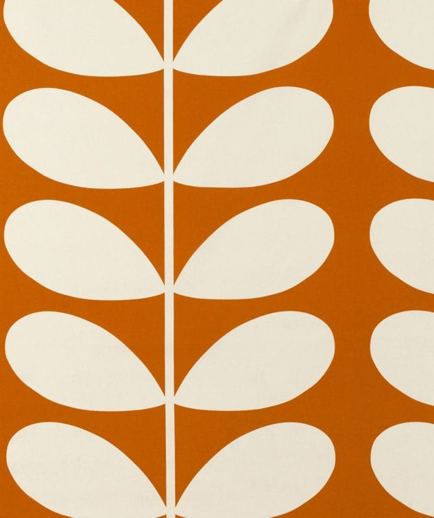Sekers Orla Kiely Fabric Collection - Giant Stem