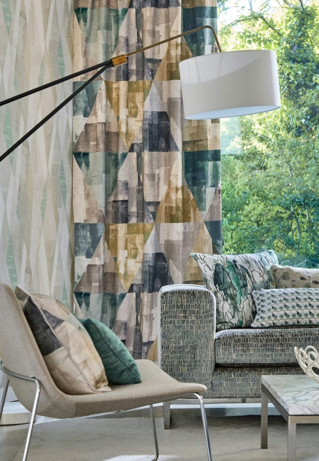 Harlequin Entity Fabric Collection available at McKenzie & Willis