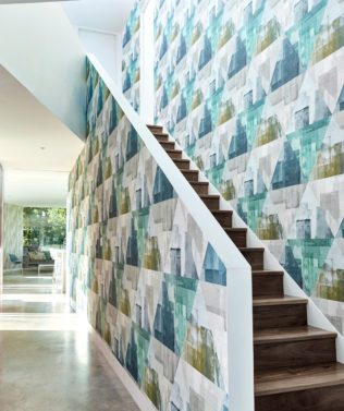 Harlequin Entity Wallpaper Collection available at McKenzie & Willis