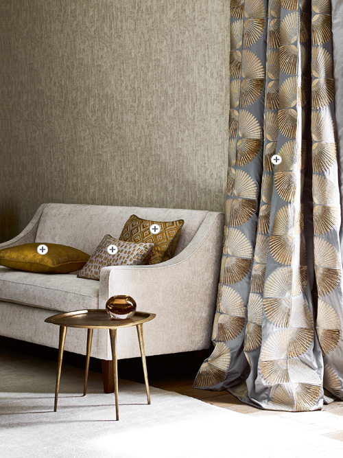 Jane Churchill Atmosphere IV Fabric Collection