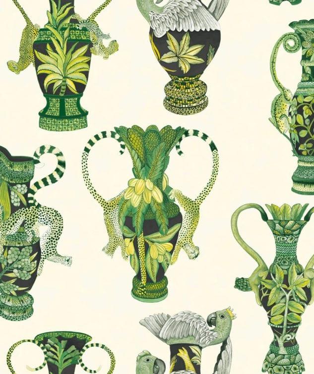 Cole & Son Ardmore Wallpaper Khulu-Vases